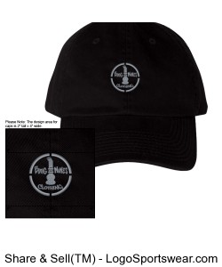 Bong Mines Washed Chino Twill Cap Design Zoom
