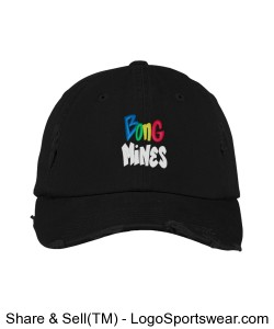 Bong Mines Distressed Hat (multi) Design Zoom