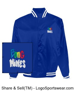 Bong Mines Baseball Jacket Design Zoom