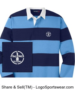 Bong Mines Long Sleeve Rugby Polo Design Zoom